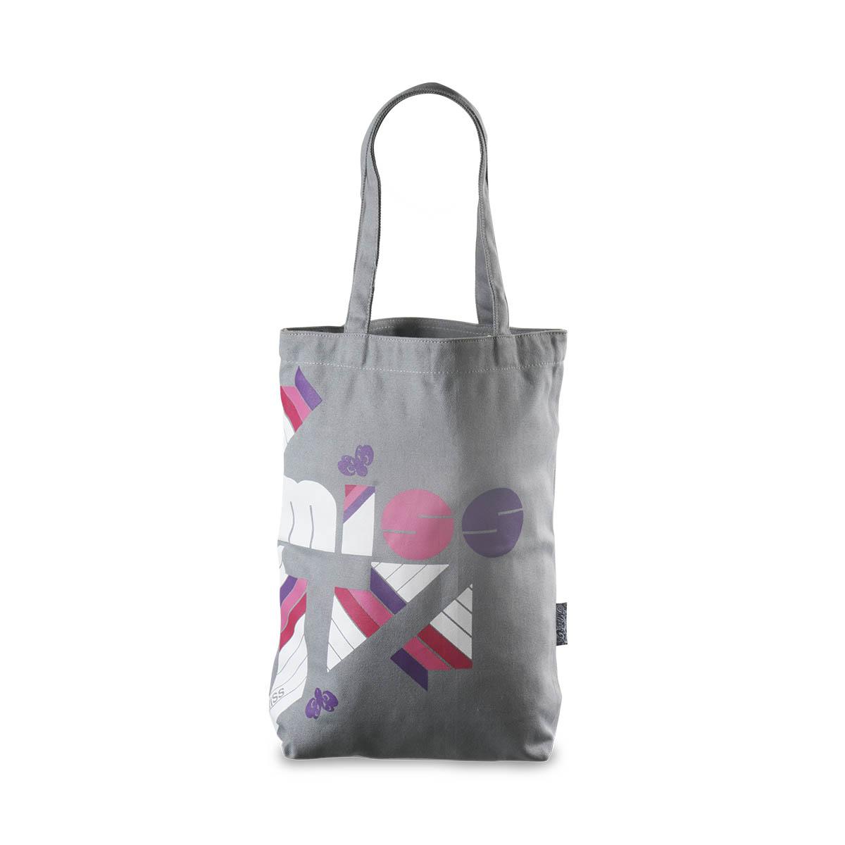 Tribu Ladies Tote Bag (Gray) – TribuNation 7b1ca82609206