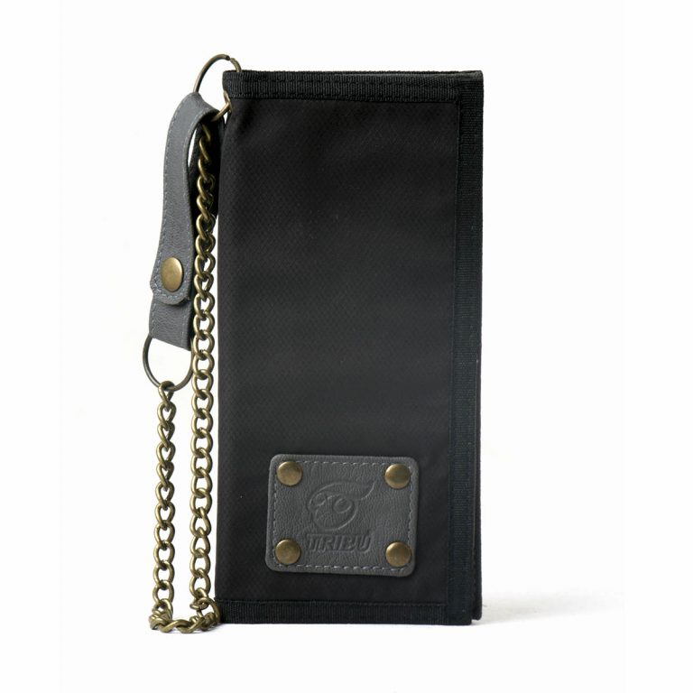 Wallet_long_Black_Front